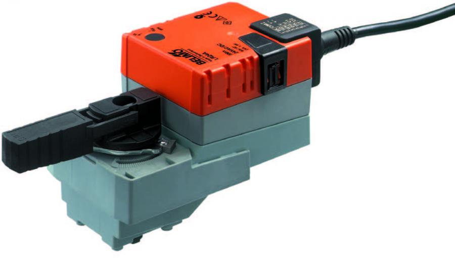 Rotary actuator, Open-close, 3-point, AC/DC 24 V, 5 Nm