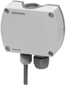 Outside Temperature Sensors QAC31...