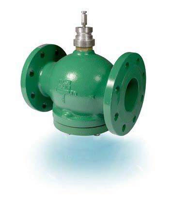 GTVS/GTRS 2- and 3-way flanged valve