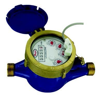 MULTI-JET WATER METER WITH PULSED OUTPUT