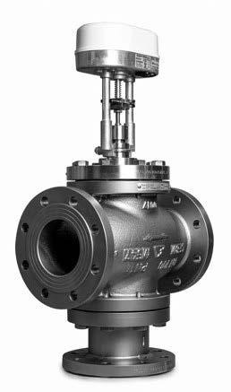 3-way mixing globe valve