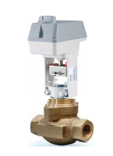 2-WAY MODULATING VALVE (PROPORTIONAL) ELECTRICAL RETURN 24V AC., 0-10Vdc.